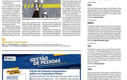 Entrevistas O Globo Boa Chance