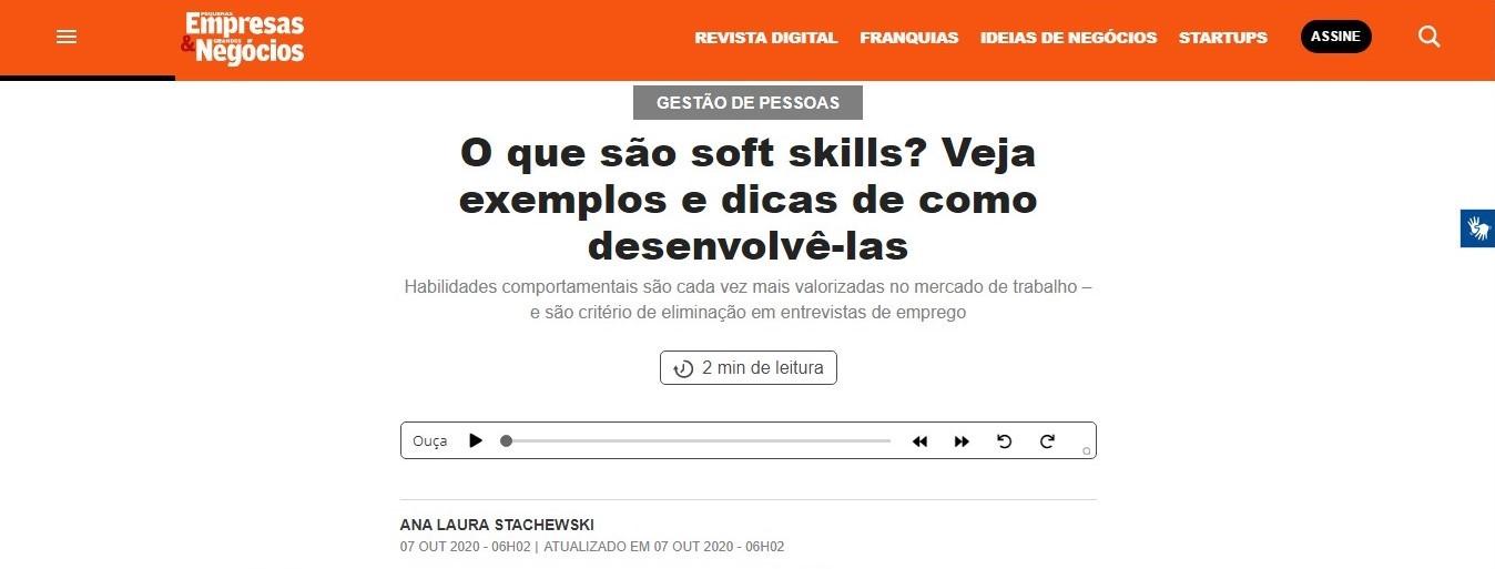 O que são soft skills? Veja exemplos e dicas de como desenvolvê-las